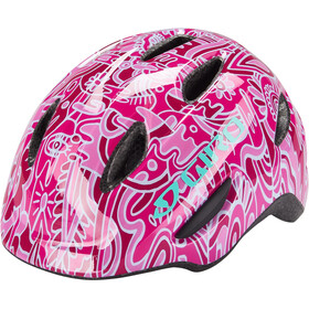 Giro Scamp Casque Enfant, pink flower land